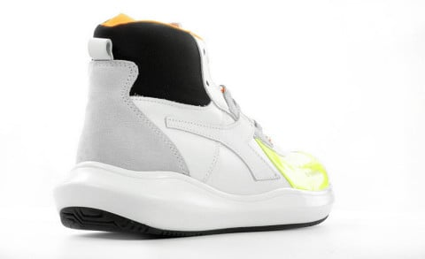 Sneakers - Diadora Heritage - Mi Basket H MDS Fluorescent Yellow
