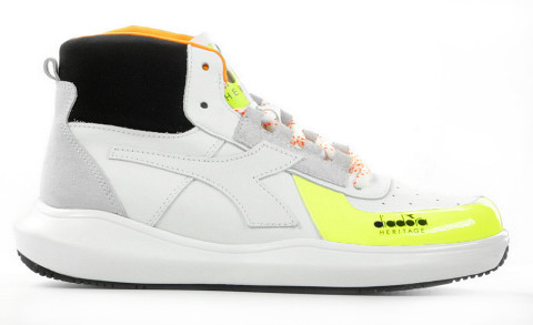 Sneakers - Diadora Heritage - Mi Basket H MDS Wit Damessneakers