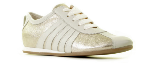 Sneakers - AGL - D945003 Goud Damessneakers