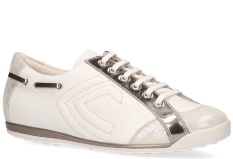 Sneakers - La Cabala - L902024 Wit/Zilver Damessneakers