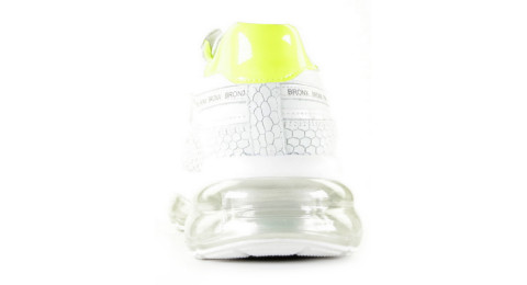 Sneakers - Bronx - Bubbly Neon Yellow 66260-JH-733 Damessneakers