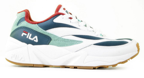 Sneakers - FILA - V94M Low White/Moroccan Blue Damessneakers