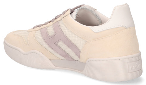 Sneakers - Hogan - H357 Beige/Lila Damessneakers