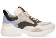 VIA VAI - Zaira Fae Beige Multicolor Damessneakers - Dames - Beige Divers
