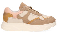 Miss Behave - Kady Fat 10 AB Damessneakers - Dames - Beige Divers