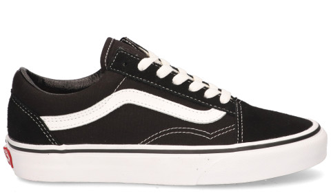 vans old skool zwart wit dames