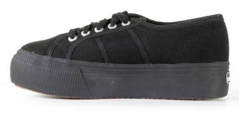 Sneakers - Superga - 2790 - AcotW-996 Full Black Damessneakers