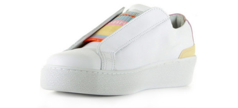 Sneakers - Tommy Hilfiger - FW0FW03859 Wit Damessneakers