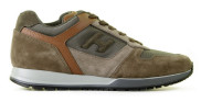 Hogan - H321 Brown Herensneakers - Heren - Bruin Divers