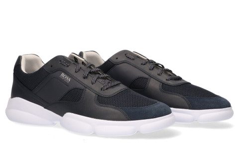 Sneakers - Hugo Boss - Rapid Runn Melt Donkerblauw Herensneakers