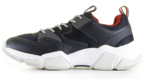 Sneakers - Tommy Hilfiger - FM0FM02148 Donkerblauw Herensneakers