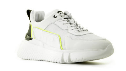 Sneakers - Off The Pitch - Treble White Herensneakers