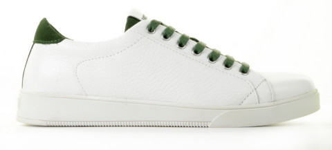 Sneakers - Blackstone - TG31 Wit/Groen Herensneakers