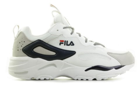 Sneakers - FILA - Ray Tracer Wit/Donkerblauw Herensneakers