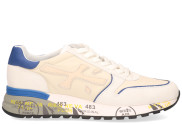 Premiata - Mick 5192 Wit Blauw Herensneakers - Heren - Wit Blauw