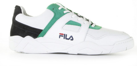 Sneakers - FILA - Cedar CB Low Wit/Donkerblauw/Groen Herensneakers
