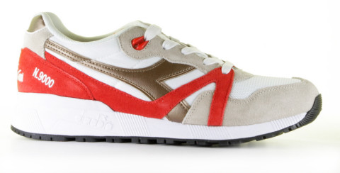 Sneakers - Diadora Heritage - N9000 Spark Wit/Multicolor Herensneakers