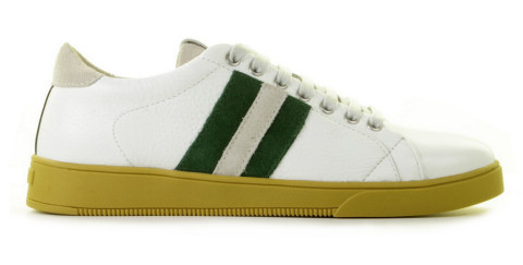 Sneakers - Blackstone - TG30 White/Green Herensneakers