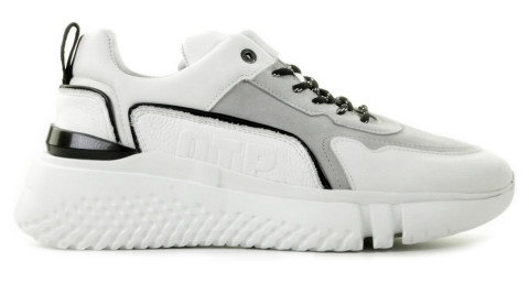 Sneakers - Off The Pitch - Treble White/Miscellaneous Herensneakers