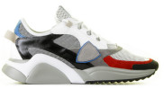 Philippe Model - Eze Fancy Multicolor Herensneakers - Heren - Grijs Divers