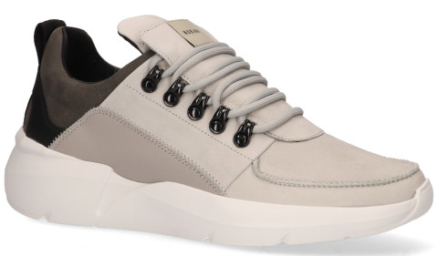 Sneakers - Nubikk - Roque Royal Grijs Herensneakers