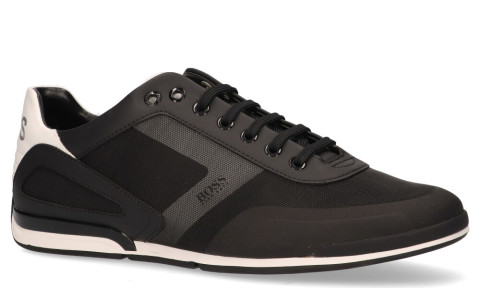 Sneakers - Hugo Boss - Saturn Low Act 50428234 Black Herensneakers
