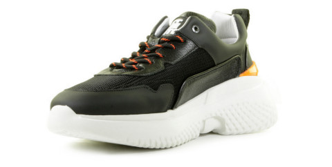 Sneakers - Off The Pitch - Treble Black Herensneakers