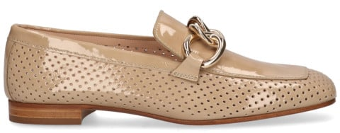 Instappers - Pertini - 30866 Lichtbruin Damesloafers