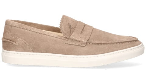 Instappers - Parbleu - KB1 Taupe Herenloafers