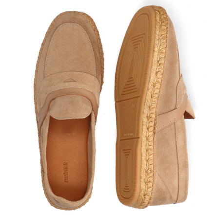 Instappers - Nubikk - Mr. Paco Taupe Herenloafers