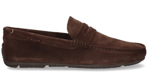 Instappers - Cypres - 2110042 Donkerbruin Herenloafers