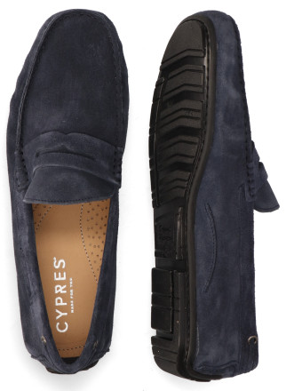 Instappers - Cypres - 2110040 Donkerblauw Herenloafers