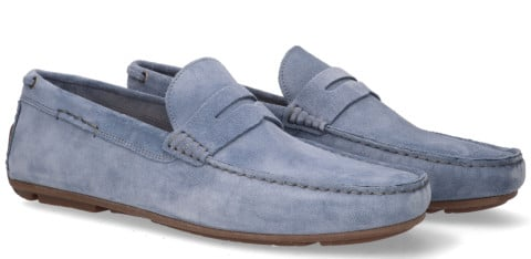 Instappers - Cypres - 2110039 Lichtblauw Herenloafers