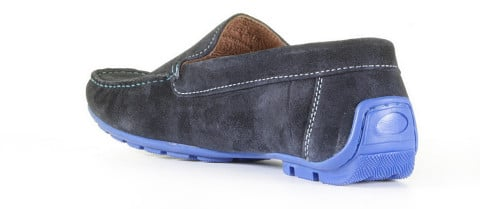 Instappers - Cypres - Hanjo 2 Azul Velo Loafers