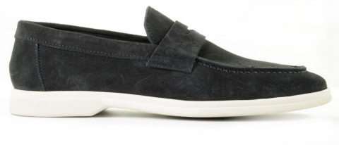 Instappers - Daniel Kenneth - Kagan Donkerblauw Herenloafers