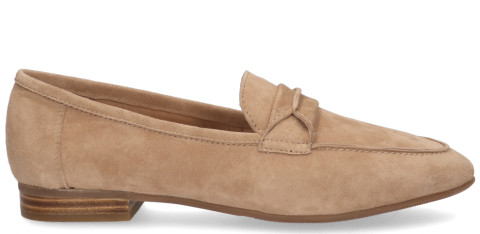 Instappers - Si - Harmonee Taupe Damesloafers