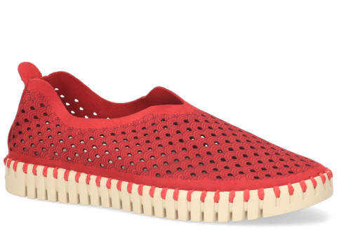 Loafers - Ilse Jacobsen - Tulip Rood Damesloafers