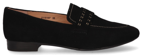 Loafers - Si - Minon Zwart Damesloafers