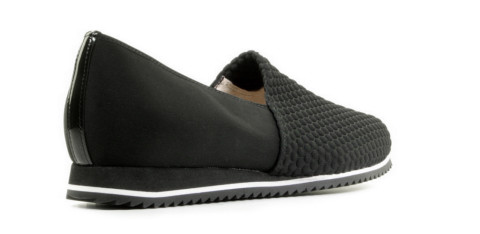 Loafers - Hassia - Piacenza Zwart/Wit Damesloafers