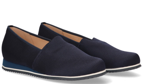 Instappers - Hassia - Piacenza Donkerblauw Damesloafers