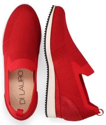 Loafers - Di Lauro - Maggie Rood Damesloafers