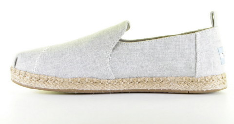 Instappers - Toms - 10009838 Drizzle Grey Loafer