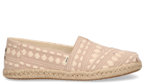 Loafers - Toms - 10016266 Taupe/Ecru Damesloafers