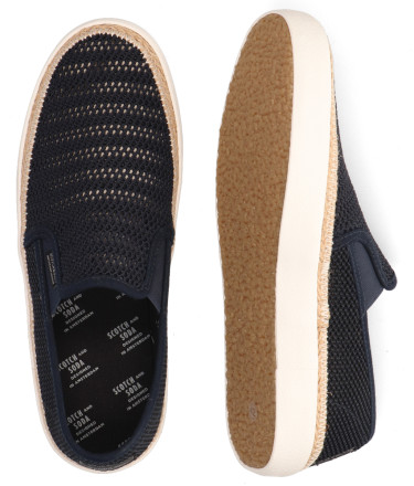 Instappers - Scotch And Soda - Izomi Donkerblauw Herenloafers