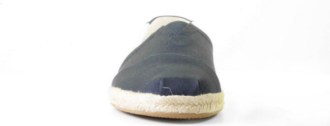 Instappers - Toms - Classic Alpargata Navy University Herenloafers