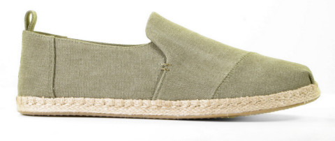 Instappers - Toms - Deconstructed Alpargata Olive Herenloafers