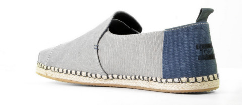 Instappers - Toms - Deconstructed Alpargata 10013214 Drizzle Grey Herenloafers
