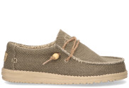 Hey Dude - Wally Braided Khaki Herenloafers - Heren - Khaki
