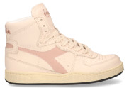 Diadora Heritage - Mi Basket Used Off White Roze Damessneakers - Dames - Wit Divers