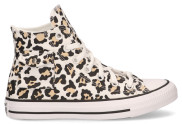 Converse - Pocket Leopard CT AS High Top White Black Desert Ore Damessneakers - Dames - Beige Divers